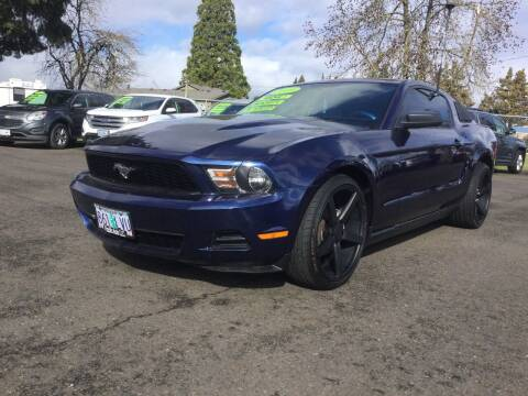 2010 Ford Mustang for sale at Pacific Auto LLC in Woodburn OR