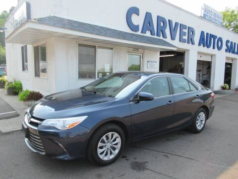 2017 Toyota Camry for sale at Carver Auto Sales in Saint Paul MN