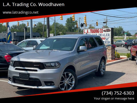 2020 Dodge Durango for sale at L.A. Trading Co. Woodhaven in Woodhaven MI