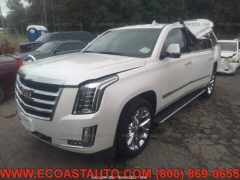 2017 Cadillac Escalade ESV for sale at East Coast Auto Source Inc. in Bedford VA