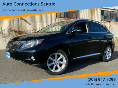 2012 Lexus RX 350 for sale at Auto Connections Seattle in Seattle WA