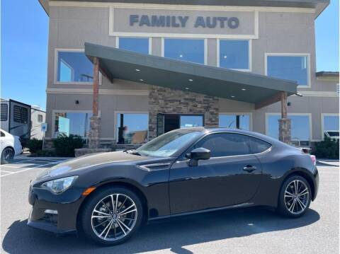 2013 Subaru BRZ for sale at Moses Lake Family Auto Center in Moses Lake WA