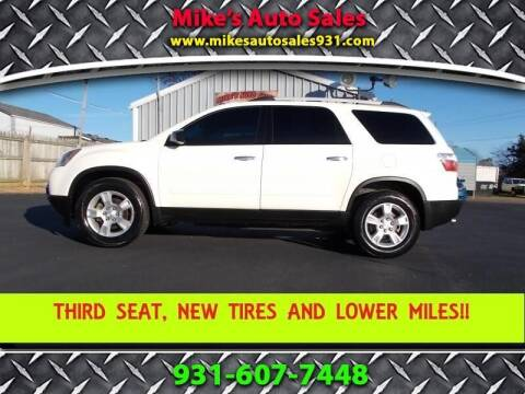 2012 GMC Acadia for sale at Mike's Auto Sales in Shelbyville TN