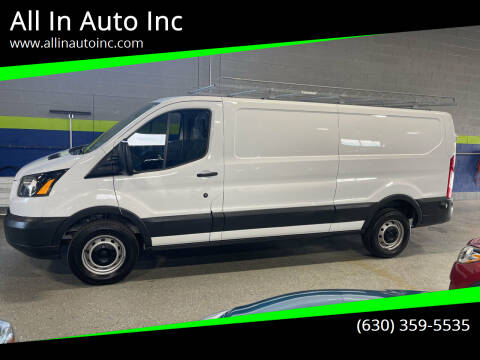 2016 Ford Transit Cargo for sale at All In Auto Inc in Addison IL