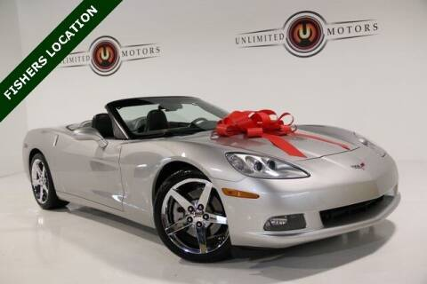 2008 Chevrolet Corvette for sale at Unlimited Motors in Fishers IN