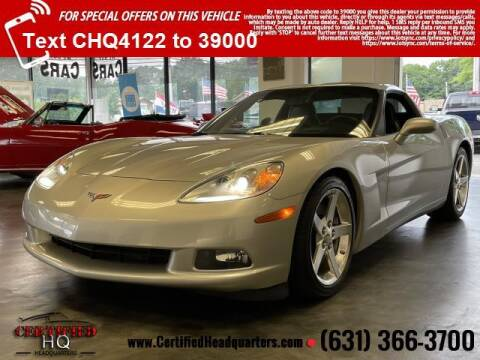 2005 Chevrolet Corvette for sale at CERTIFIED HEADQUARTERS in Saint James NY