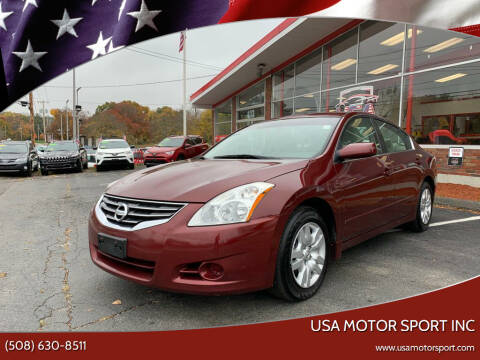 2010 Nissan Altima for sale at USA Motor Sport inc in Marlborough MA