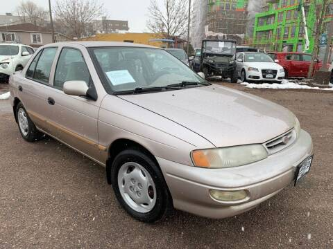 1997 Kia Sephia for sale at BERKENKOTTER MOTORS in Brighton CO