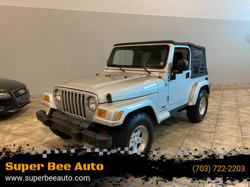 2005 Jeep Wrangler for sale at Super Bee Auto in Chantilly VA