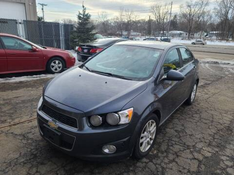 2012 Chevrolet Sonic for sale at Steve's Auto Sales in Madison WI