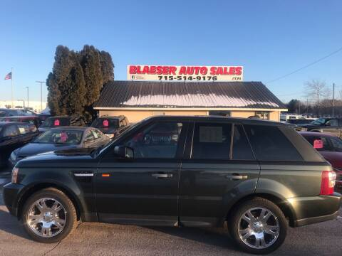 2006 Land Rover Range Rover Sport for sale at BLAESER AUTO LLC in Chippewa Falls WI