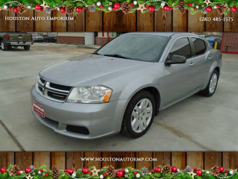 2014 Dodge Avenger for sale at Houston Auto Emporium in Houston TX