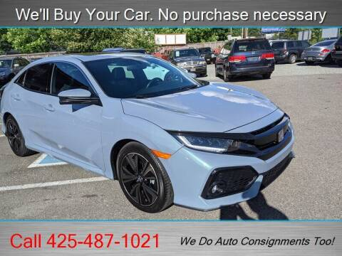 2018 Honda Civic for sale at Platinum Autos in Woodinville WA