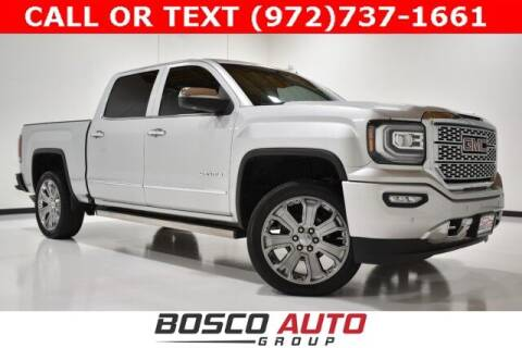 2017 GMC Sierra 1500 for sale at Bosco Auto Group in Flower Mound TX