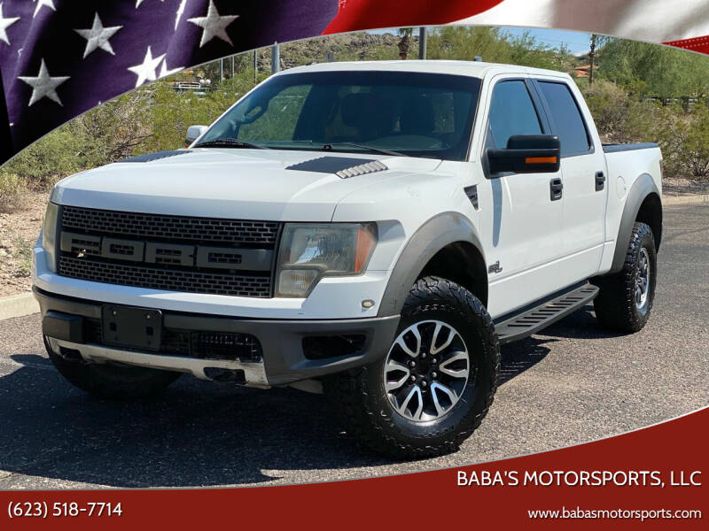 2012 Ford F-150 for sale at Baba's Motorsports, LLC in Phoenix AZ