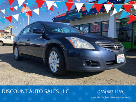 2010 Nissan Altima for sale at DISCOUNT AUTO SALES LLC in Lakewood WA