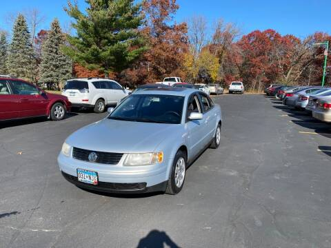2001 Volkswagen Passat for sale at Northstar Auto Sales LLC in Ham Lake MN
