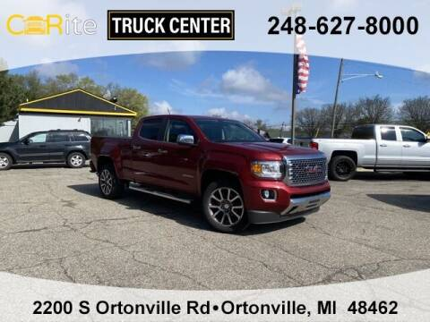 2019 GMC Canyon for sale at Carite Truck Center in Ortonville MI