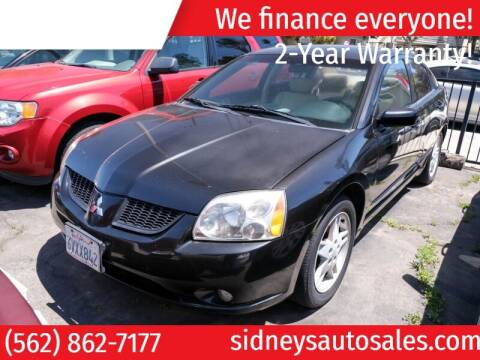 2004 Mitsubishi Galant for sale at Sidney Auto Sales in Downey CA