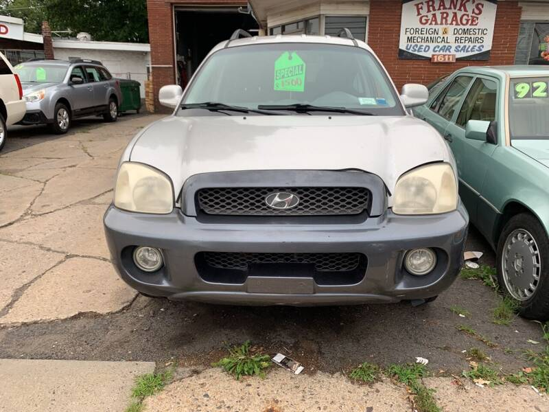 2003 Hyundai Santa Fe for sale at Frank's Garage in Linden NJ