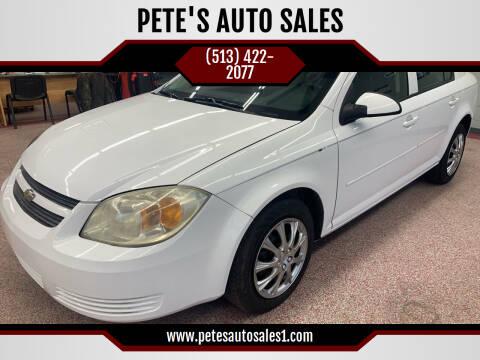 2010 Chevrolet Cobalt for sale at PETE'S AUTO SALES LLC - Dayton in Dayton OH
