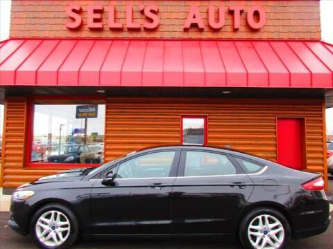 2015 Ford Fusion for sale at Sells Auto INC in Saint Cloud MN