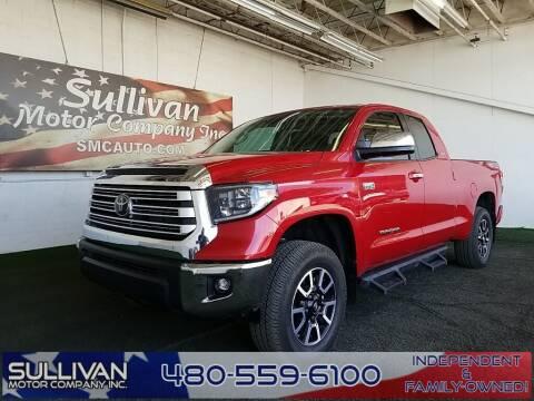2020 Toyota Tundra for sale at SULLIVAN MOTOR COMPANY INC. in Mesa AZ