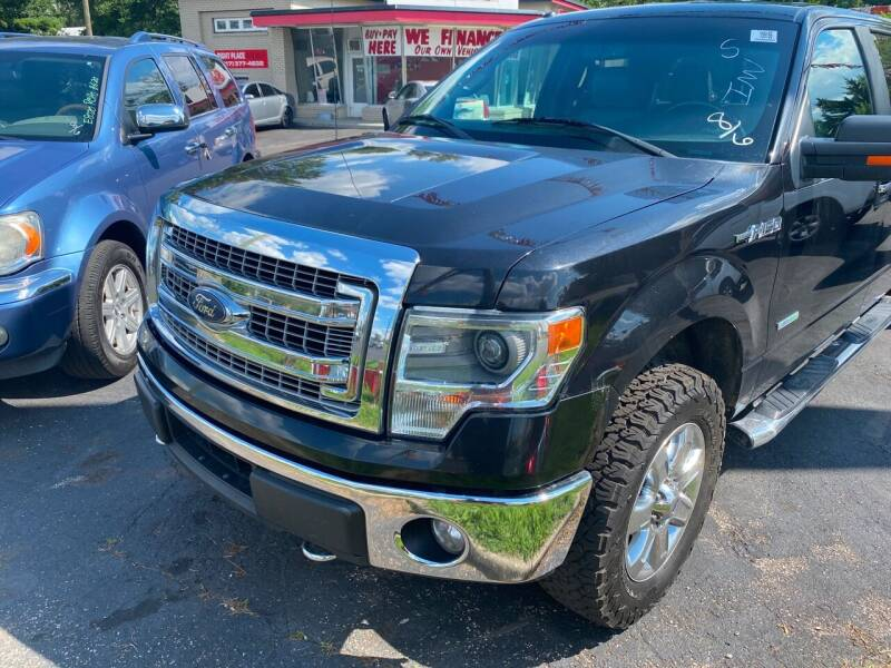 2014 Ford F-150 for sale at Right Place Auto Sales in Indianapolis IN