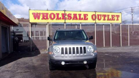 2015 Jeep Patriot for sale at LONG BROTHERS CAR COMPANY in Cleveland OH