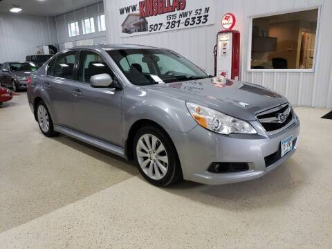 2010 Subaru Legacy for sale at Kinsellas Auto Sales in Rochester MN