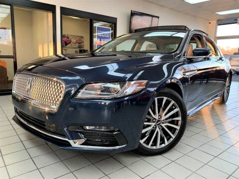 2017 Lincoln Continental for sale at SAINT CHARLES MOTORCARS in Saint Charles IL