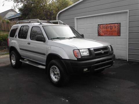 2000 Nissan Xterra for sale at Marty's Auto Sales in Lenoir City TN