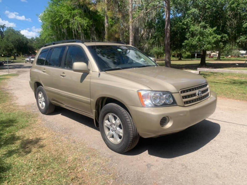 2001 Toyota Highlander for sale at The Auto Adoption Center in Tampa FL