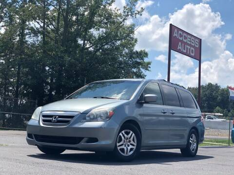 2006 Honda Odyssey for sale at Access Auto in Cabot AR