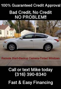 2014 Nissan Altima for sale at Affordable Mobility Solutions, LLC - Standard Vehicles in Wichita KS