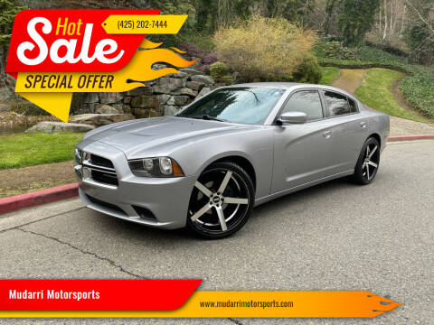 2014 Dodge Charger for sale at Mudarri Motorsports in Kirkland WA