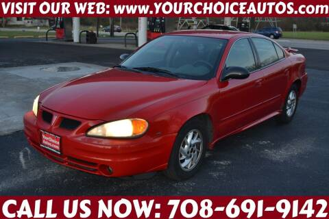 2004 Pontiac Grand Am for sale at Your Choice Autos - Crestwood in Crestwood IL