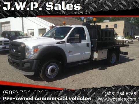 2011 Ford F-550 for sale at J.W.P. Sales in Worcester MA