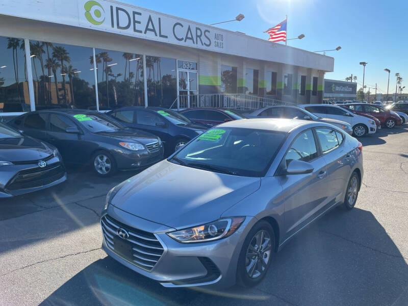 2017 Hyundai Elantra for sale at Ideal Cars in Mesa AZ