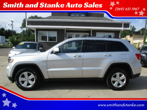 2012 Jeep Grand Cherokee for sale at Smith and Stanke Auto Sales in Sturgis MI