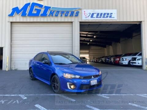2017 Mitsubishi Lancer for sale at MGI Motors in Sacramento CA