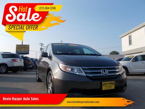 2013 Honda Odyssey for sale at Kevin Harper Auto Sales in Mount Zion IL
