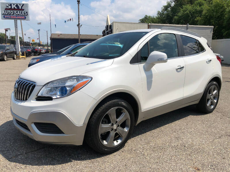2014 Buick Encore for sale at SKY AUTO SALES in Detroit MI