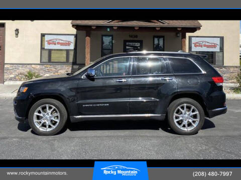 2015 Jeep Grand Cherokee for sale at Rocky Mountain Motors in Idaho Falls ID