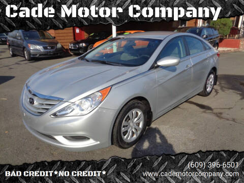 2011 Hyundai Sonata for sale at Cade Motor Company in Lawrenceville NJ