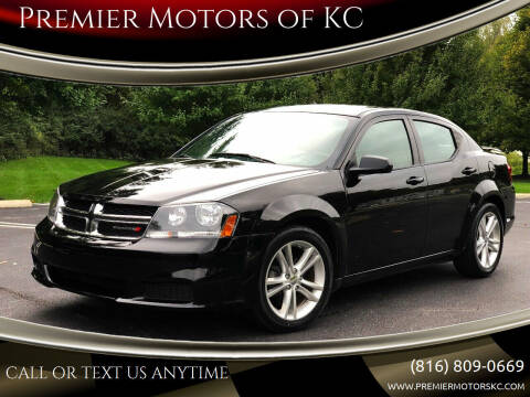 2014 Dodge Avenger for sale at Premier Motors of KC in Kansas City MO