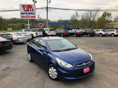 2015 Hyundai Accent for sale at KB Auto Mall LLC in Akron OH