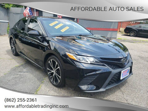 2018 Toyota Camry for sale at Affordable Auto Sales in Irvington NJ