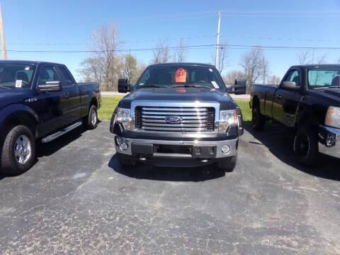 2012 Ford F-150 for sale at Pool Auto Sales Inc in Spencerport NY