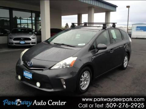 2012 Toyota Prius v for sale at PARKWAY AUTO CENTER AND RV in Deer Park WA